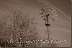 Windmill - Sepia